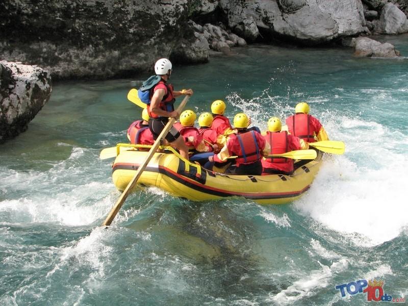 El rafting