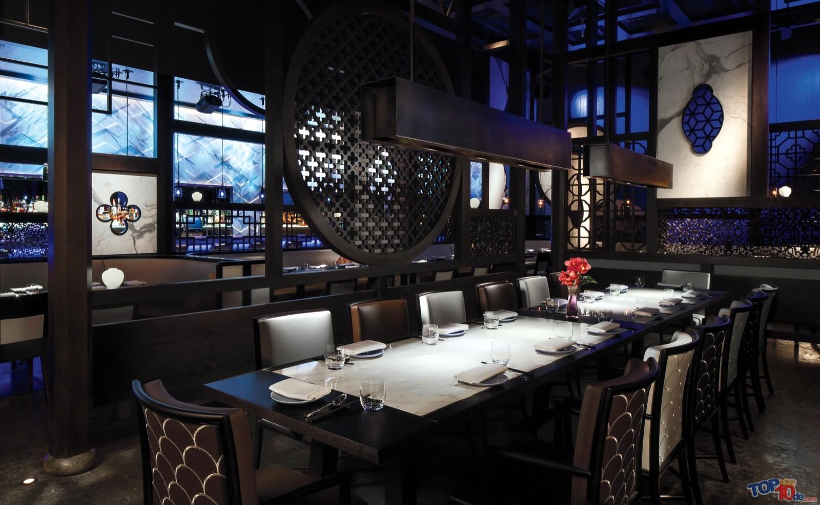 Los 10 mejores restaurantes del mundo for Best private dining rooms vegas