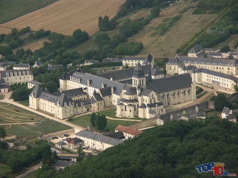 La Abadía real de Fontevraud