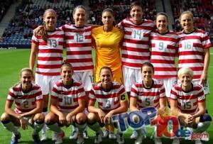 Las 10 mejores selecciones de fútbol femeninas según la FIFA