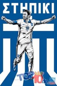 Los 10 mejores Fan Art de las mejores selecciones de fútbol